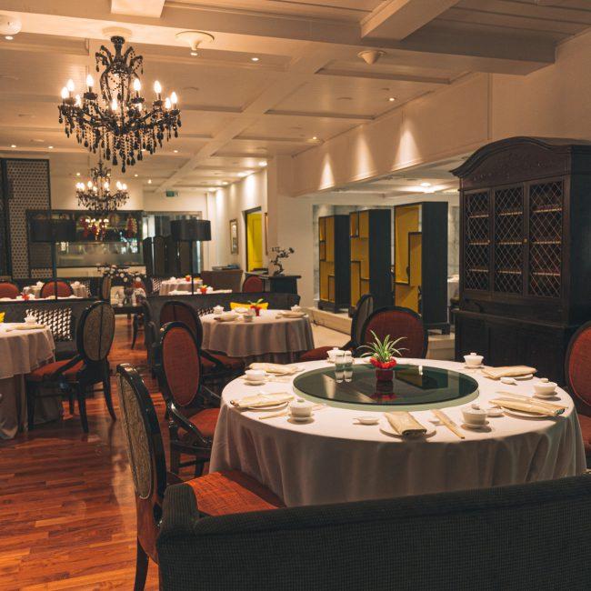 บุฟเฟ่ต์โรงแรม ห้องอาหารจีน ชาง (โรงแรมรามา การ์เด้นส์)